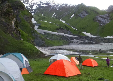 camp in kullu manali