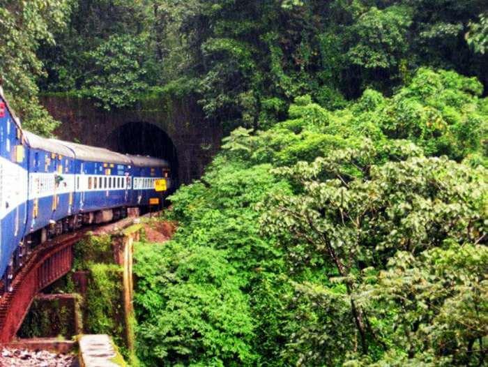 Hassan-Mangalore-train-